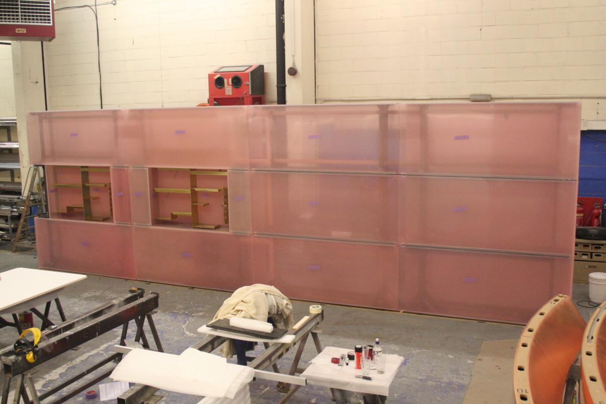 Céline, London - Resin Wall - Mike Smith Studio